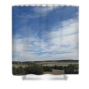 Concho Landscape Shower Curtain