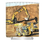 construction whsd Peterburg Shower Curtain