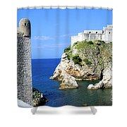 Croatia, Dubrovnik Shower Curtain