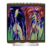 Digital Software Art Shower Curtain