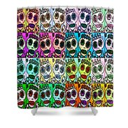 Dod Art 123 Shower Curtain