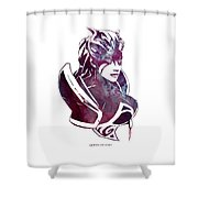 Dota 2 Shower Curtain