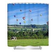 England Shower Curtain