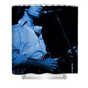 #7 Enhanced In Blue Shower Curtain