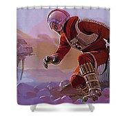 Episode 1 Star Wars Art Shower Curtain