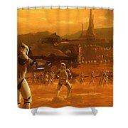 Episode 2 Star Wars Art Shower Curtain