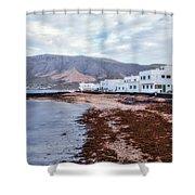 Famara - Lanzarote Shower Curtain