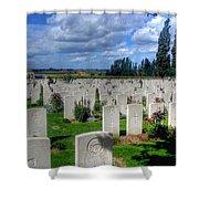 Flanders Fields Belgium Shower Curtain