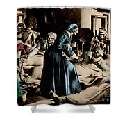 Florence Nightingale, English Nurse Shower Curtain by Science Source