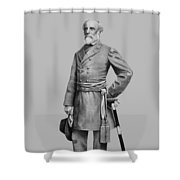 General Robert E Lee Shower Curtain
