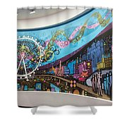 High Roller - Las Vegas Nevada Shower Curtain