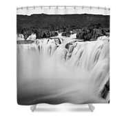 Idaho: Shoshone Falls Shower Curtain