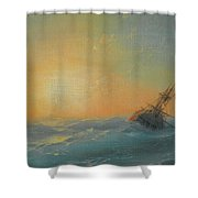 Ivan Konstantinovich Aivazovsky Shower Curtain