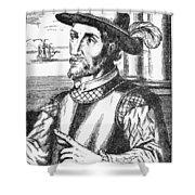 Juan Ponce De Leon Shower Curtain