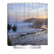Kukup Beach - Java Shower Curtain