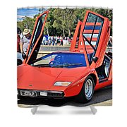 Lamborghini Countach Lp400 Shower Curtain