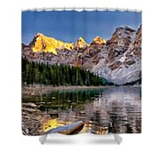 Landscape In Painting Shower Curtain
