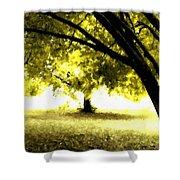Landscape Wall Shower Curtain