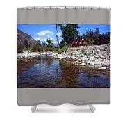 Lower Sisquoc River - San Rafael Wilderness Shower Curtain