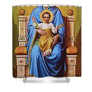 Madonna And Child Art Shower Curtain