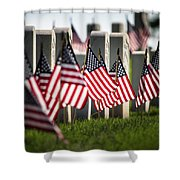 Memorial Day Shower Curtain