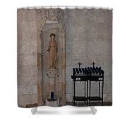 Miami Monastery Shower Curtain