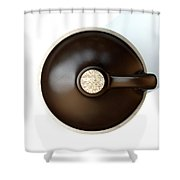 Moonshine Jug Shower Curtain