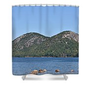 Mountain's View Shower Curtain