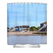 Mudeford - England Shower Curtain