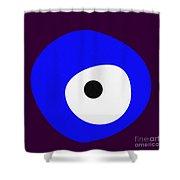 Nazar - Evil Eye Shower Curtain
