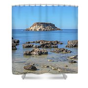 Pegeia - Cyprus Shower Curtain