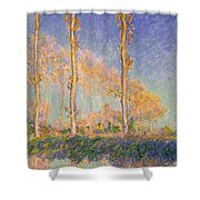 Poplars Shower Curtain
