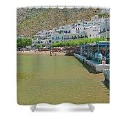 Sifnos, Greece Shower Curtain
