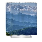 Springtime In The Blue Ridge Mountains Shower Curtain