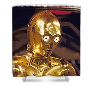 Star Wars 3 Poster Shower Curtain