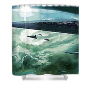 Star Wars Print And Poster Shower Curtain