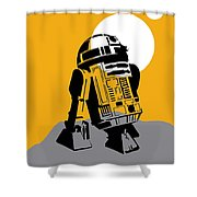 Star Wars R2-d2 Collection Shower Curtain