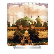 Star Wars The Trilogy Poster Shower Curtain