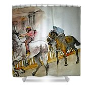 Still Racing After 400 Yrs Album Shower Curtain
