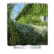 Street Scenes From Giverny France Shower Curtain