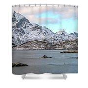 Sund, Lofoten - Norway Shower Curtain