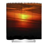 7- Sunset Shower Curtain