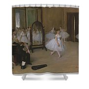 The Dancing Class Shower Curtain