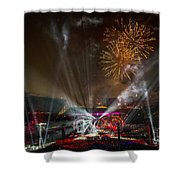 The Grateful Dead At Soldier Field Fare Thee Well Tour Shower Curtain