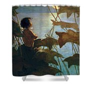 The Water Babies Shower Curtain