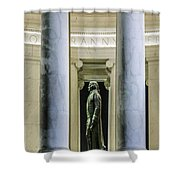Thomas Jefferson Memorial Shower Curtain