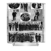 Titanic: Survivors, 1912 Shower Curtain