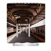 Train Station Series Shower Curtain