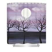 Tree Love Shower Curtain