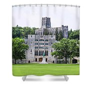 West Point Chapel Shower Curtain
